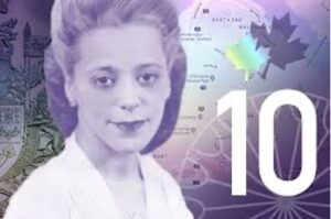 Viola Desmond on the ten dollar bill